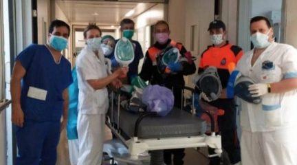 Avalancha de donaciones de máscaras de buceo ante la campaña de recogida iniciada por algunos ayuntamientos