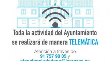 El Ayuntamiento de Las Rozas resuelve cerca de 400 consultas e incidencias al día
