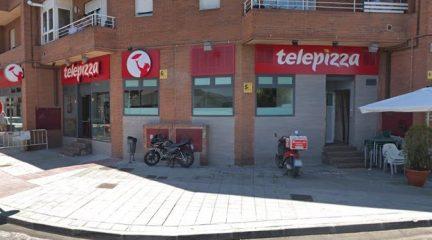 Los alumnos de Galapagar con beca de comedor por RMI podrán recoger un menú diario en el Telepizza