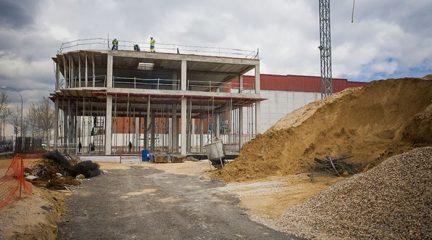 El Ayuntamiento de Collado Villalba hace públicas una serie de medidas de seguridad durante el cierre de las obras en la construcción