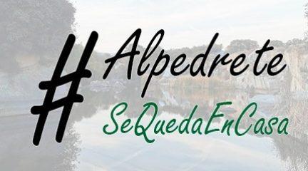 Alpedrete estrena canal en YouTube para seguir en contacto con los vecinos : #AlpedreteSeQuedaEnCasa