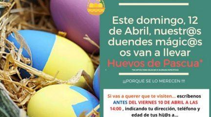 Todos los niños de El Boalo, Cerceda y Mataelpino recibirán huevos de Pascua este domingo