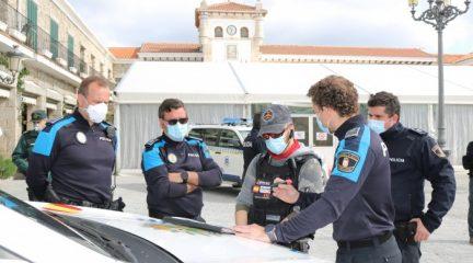 La Policía Local de Hoyo de Manzanares realiza una operación de vigilancia con drones