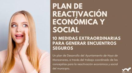 Hoyo propone una decena de medidas para recuperar espacios seguros, movilidad sostenible y recuperación del tejido comercial
