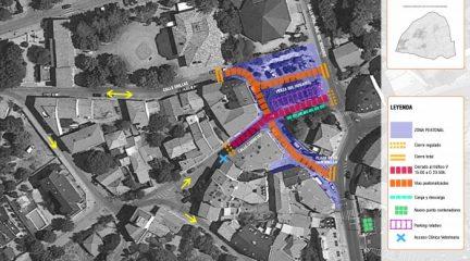 El Ayuntamiento de Hoyo de Manzanares aumenta el espacio público destinado a los peatones