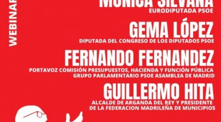 """El PSOE de Collado Villalba organiza mañana el webinar """"Covid-19"""", saliendo todos juntos"""""""