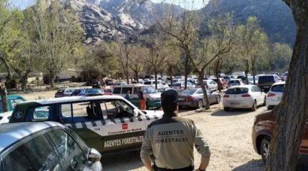 La Comunidad permite desde el lunes estacionar en los grandes aparcamientos de la Sierra de Guadarrama
