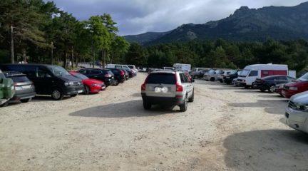 """Los ecologistas muestran su preocupación por la """"avalancha"""" de personas este fin de semana en la Sierra de Guadarrama"""