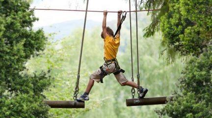 El parque Aventura Amazonia de Cercedilla reabre sus puertas el 6 de junio con amplias medidas de seguridad