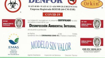 El Ayuntamiento de Robledo desinfectará gratuitamente los establecimientos comerciales de la localidad