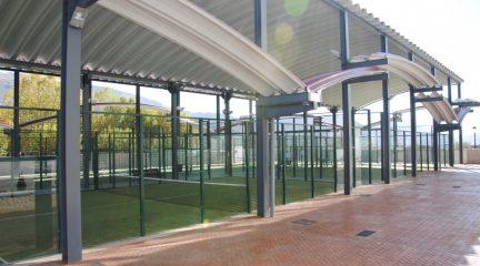 Abren las pistas de pádel, tenis y frontón de Robledo, mientras que la piscina de verano lo hará el 3 de julio