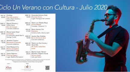 """San Lorenzo organiza el ciclo de conciertos """"Un verano con Cultura"""""""