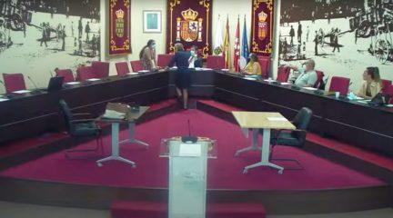 """El equipo de Gobierno de Galapagar aprueba la """"Operación Asfalto"""" en un Pleno sin el PP, que anuncia """"acciones legales"""" por incumplirse la orden regional del Covid-19"""