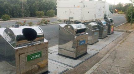 San Lorenzo de El Escorial aumenta la recogida selectiva de residuos respecto al pasado año