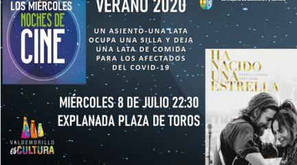 """""""Ha nacido una estrella"""", esta noche en el cine de verano de Valdemorillo"""