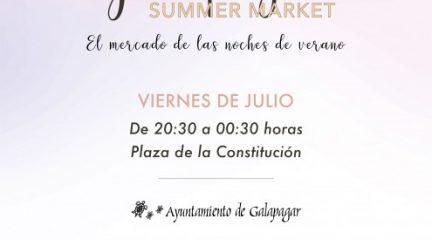 Este viernes llega a Galapagar el mercado de las noches de verano