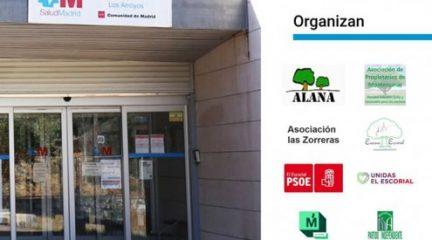 Esta tarde, concentración contra los recortes en el Consultorio médico de Los Arroyos