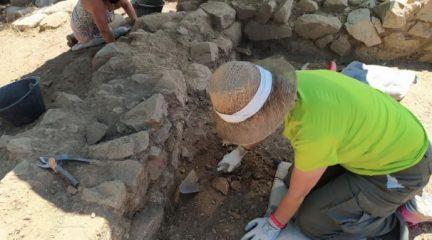 Comienza la tercera fase excavación de El Rebollar en El Boalo