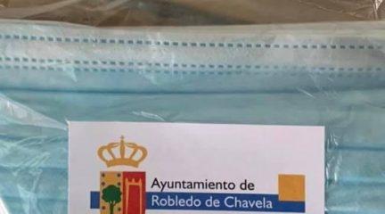 El Ayuntamiento de Robledo de Chavela reparte 20.000 nuevas mascarillas entre sus vecinos