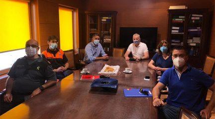 Policía Local y Guardia Civil mantienen un nuevo encuentro de coordinación con el alcalde de Torrelodones