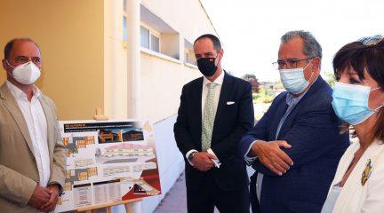 El IES de Alpedrete contará con un nuevo edificio en enero, que podrá albergar a 210 nuevos alumnos