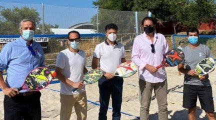 Collado Mediano, sede oficial del tenis playa de la Federación de Tenis de Madrid