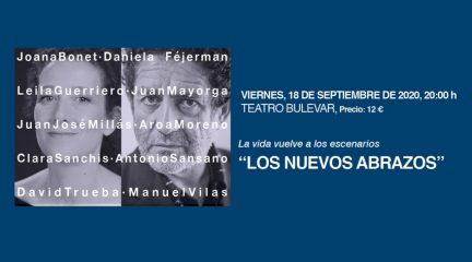 """La vida vuelve a los escenarios el 18 de septiembre en Torrelodones con """"Los nuevos abrazos"""""""