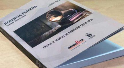 """""""Herencia Paterna"""", de Antonio Maya Gato, ganador del premio Don Manuel de narrativa corta 2020 de Moralzarzal"""