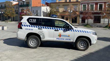 El Ayuntamiento de Robledo de Chavela adquiere un nuevo vehículo para la Policía Local