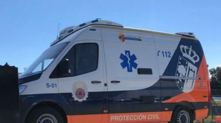 El Ayuntamiento de Robledo adquiere una nueva ambulancia para Protección Civil