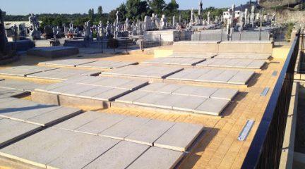 El Escorial amplía el horario de apertura del cementerio durante esta semana para escalonar las visitas