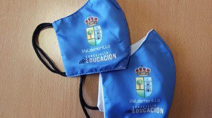 Valdemorillo entrega mascarillas reutilizables también a los menores de 6 años