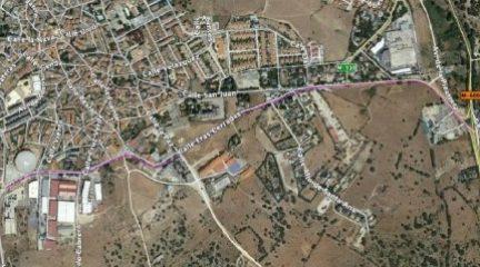 Valdemorillo avanza en el proyecto para asfaltar la vía de circunvalación, con una inversión de 434.000 euros
