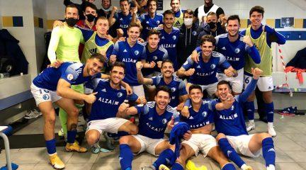 Las Rozas confirma su reacción con Manolo Cano y se estrena en Liga ganando al Atlético de Madrid B (2-1)