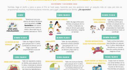 La Mancomunidad La Maliciosa diseña una variada oferta de talleres online de igualdad en familia