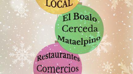 """Campaña """"Yo consumo local"""", en apoyo del comercio de El Boalo, Cerceda y Mataelpino"""