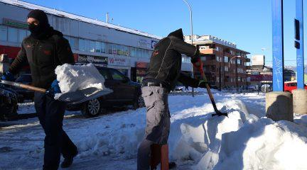El equipo de Gobierno de Collado Villalba pide que se declare zona catastrófica a la localidad por el temporal de nieve