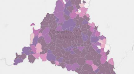 La incidencia de Covid-19, descontrolada: seis municipios por encima de 1.000, entre ellos Collado Villalba
