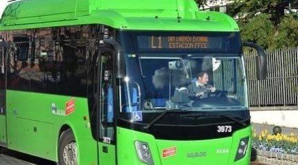 Se reanuda el servicio de las líneas urbanas en San Lorenzo, así como la 664, prolongando su recorrido hasta El Escorial