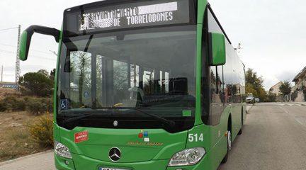 Comienza a funcionar con limitaciones tanto el transporte urbano como interurbano de Torrelodones