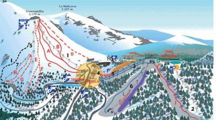 Abre la estación de esquí de Navacerrada por primera vez desde que en marzo cerrara por la pandemia