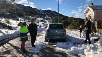 """El Ayuntamiento de Collado Villalba asegura que """"ya está despejada la práctica totalidad de calles"""" del municipio"""
