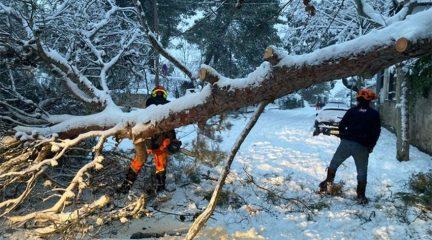 El Ayuntamiento de Torrelodones solicitará la declaración de zona catastrófica por los efectos de la borrasca Filomena
