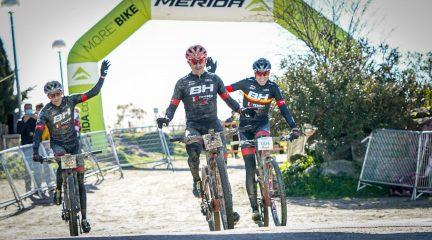Carlos Coloma y Rocío del Alba, ganadores de la XXX Clásica MTB de Valdemorillo