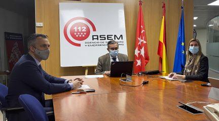 La Comunidad revisa los planes de Protección Civil de Alpedrete, Becerril, Cercedilla, Collado Mediano, El Boalo, El Escorial y Valdemorillo
