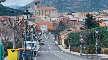 Asfaltado de nuevas calles en Robledo de Chavela, con una inversión de 48.000 euros
