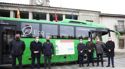 La Comunidad mejora el transporte en Robledo, Fresnedillas y Valdemaqueda con nuevos servicios en la línea 645