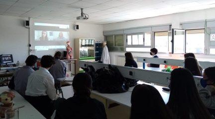 Semana de orientación académica y profesional en el Laude Fontenebro School