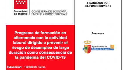 El Ayuntamiento de Robledo de Chavela incorpora a su plantilla a 12 desempleados a través de un programa regional