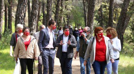 """Juan Lobato: """"El próximo gobierno de la Comunidad de Madrid tiene que proteger la Presa del Gasco y el Canal del Guadarrama"""""""